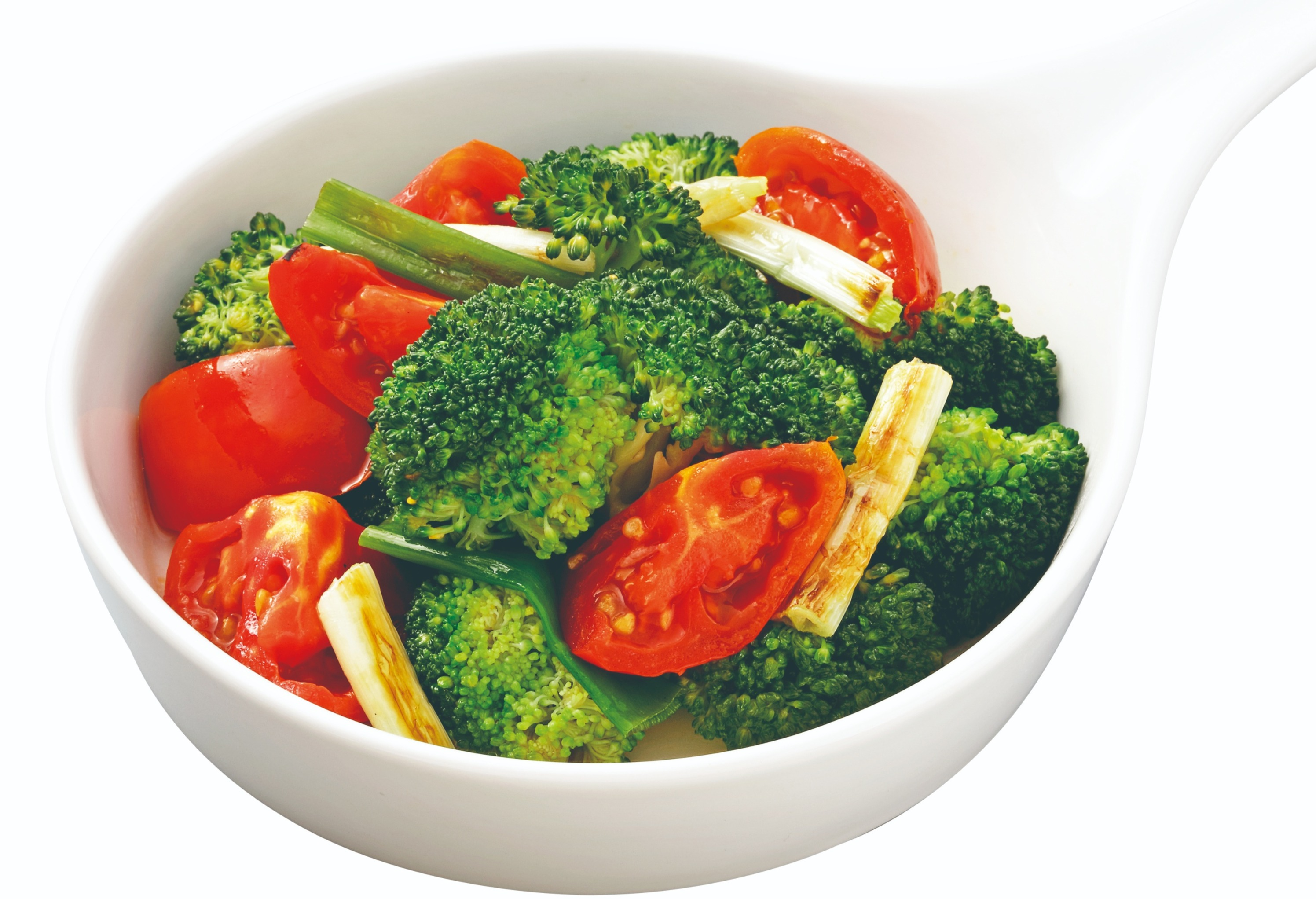 Stir-fried Broccoli with Tomato