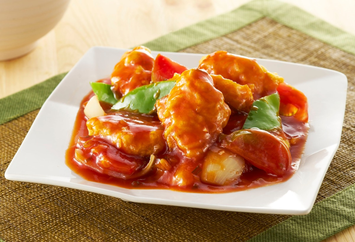 Fried Fish Fillet with Sweet and Sour
