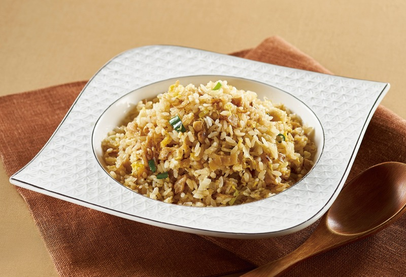 Stir-fried Rice with Dried Turnip