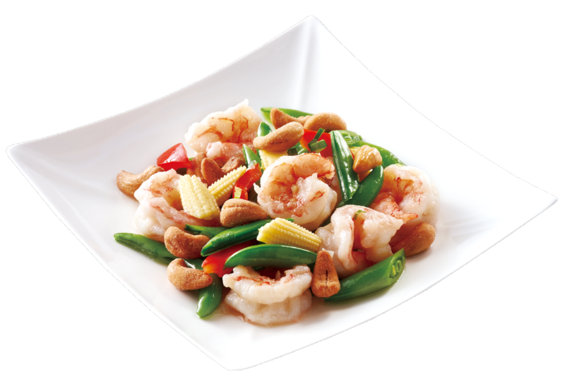 Stir-fried Shrimp and Cashew Nuts