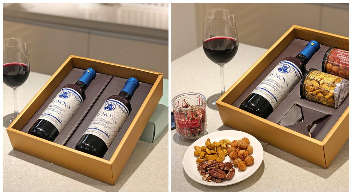 野生藍莓汁禮盒-新年過年禮盒伴手禮